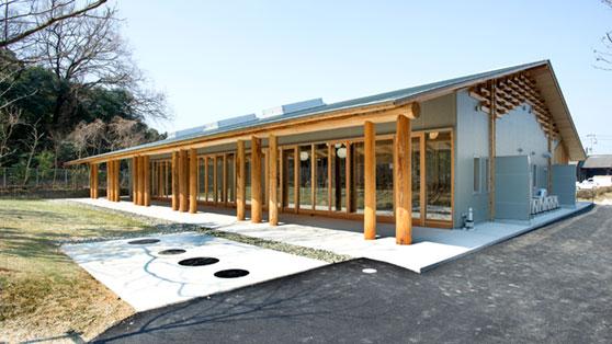 徳島県木材利用創造センター人材育成棟
